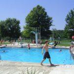 Elm Ave Park. pool complex.
