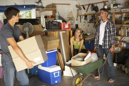 Selling your Guilderland home, decrease your clutter with a garage sale
