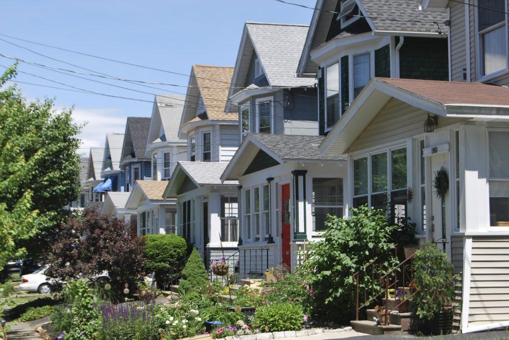 Albany NY Suburban Neighborhood